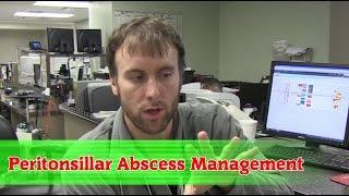 Peritonsillar Abscess Needle Aspiration