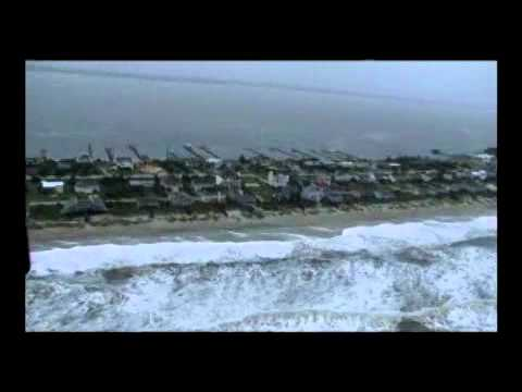 Coast Guard conducts Hurricane Irene assessment over NC
