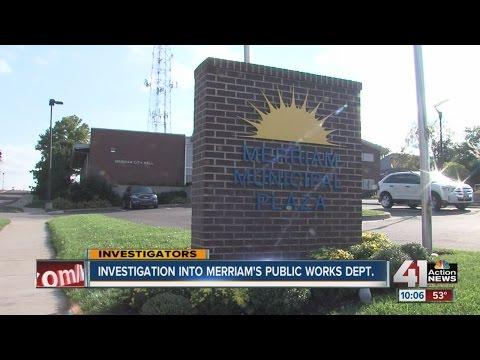 Merriam Public Works Under Investigation