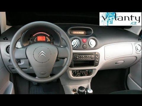 How to remove steering wheel + AIRBAG Citroen C2 / C3 mk1