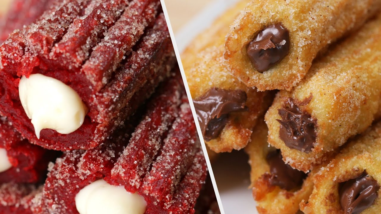 Churro Recipes All Dessert Lovers Will Enjoy • Tasty