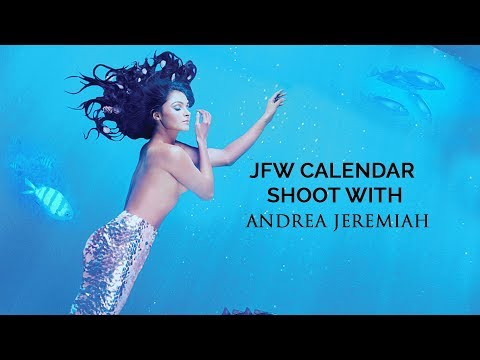 Andrea Jeremiah| JFW Photoshoot for Calendar 2019| Singing on stage gives me high