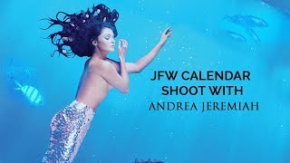Andrea Jeremiah  JFW Photoshoot for Calendar 2019  Singing on stage gives me high