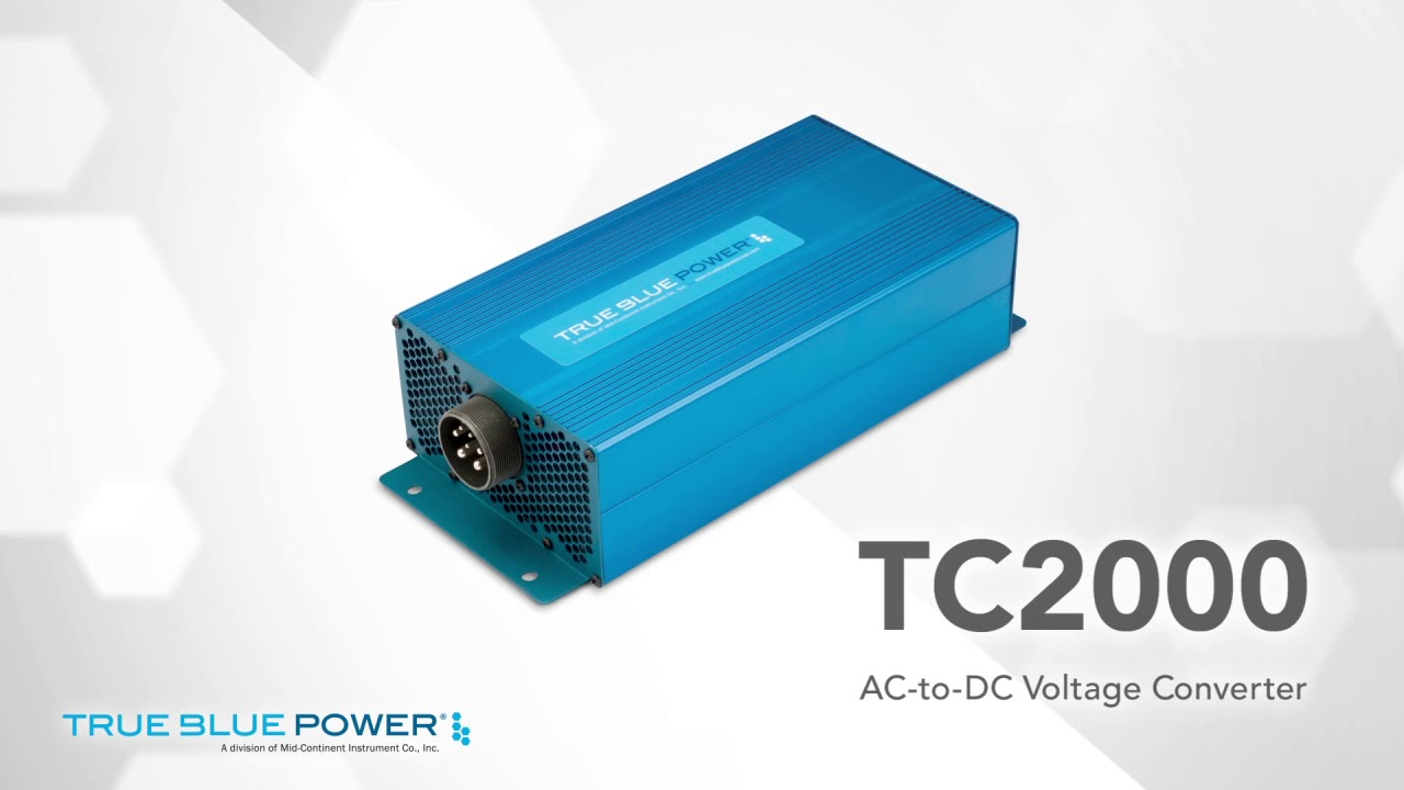 TC2000 AC-to-DC Converter — True Blue Power®