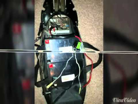 electric bladez xtrse scooter restored youtube electric e scooter wiring diagram electric bladez xtrse scooter restored