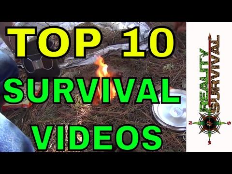 Top 10 Best Survival Videos!