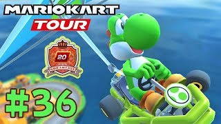 Reach Tier 20! New Yoshi Weekly Ranking - Mario Kart Paris Tour Part 36