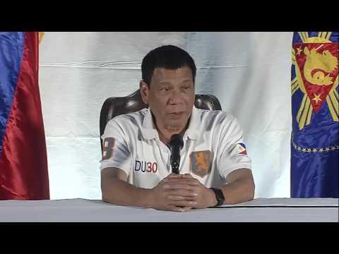 President Rodrigo Roa Duterte - Press Conference at DPWH Panacan Depot, Davao City 8/21/2016