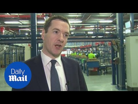 George Osborne ends interview when asked about offshore funds - Daily Mail