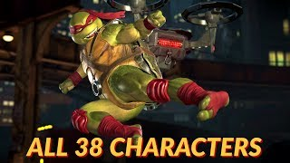 Injustice 2 - All Super Moves Including All DLC Characters