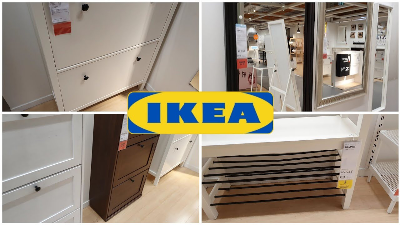 Ikea Meubles A Chaussures Et Meubles D Entree 7 Fevrier 2020 Youtube