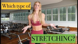 2 MOST IMPORTANT TYPES OF STRETCHES / TrainLikeaBallerina