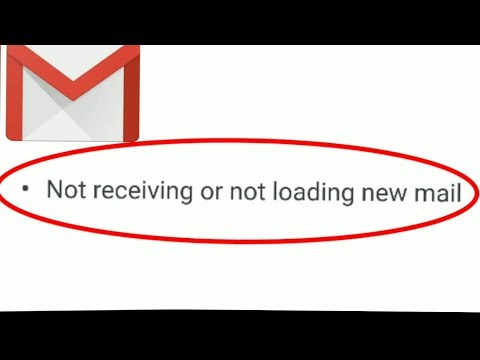 How To Fix Google Gmail App | Not Receiving Or Not Loading New Mail In Android