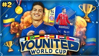FIFA 18: YOUnited WORLD CUP #2 🇨🇴🏆 UNFASSBARES Upgrade?! 🔥