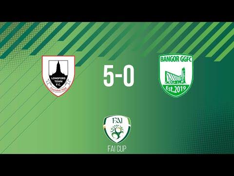 FAI Cup First Round: Longford Town 5-0 Bangor GG FC