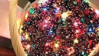 видео Новогодние поделки из шишки своими руками: фото