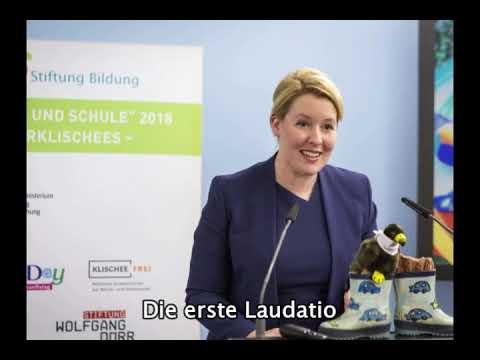 """Verleihung des Förderpreises """"Verein(t) für gute Kita und Schule"""" 2018"""