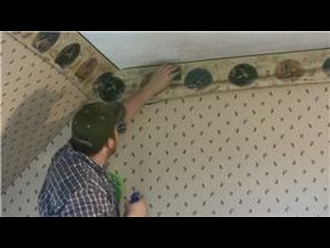 Wall Paper Borders For Kitchens Oak Kitchen Tables All About Walls How To Remove Youtube