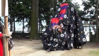 2015.04.12 上黒田 獅子舞 奉納舞1 後