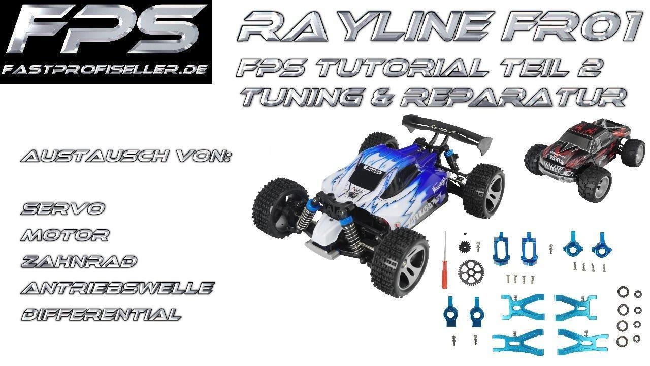 Rayline FR01 FR01S WLtoys A959 A979 RC Auto 1:18 Motor Platine Servo Ersatzteile Zerlegen Reparieren