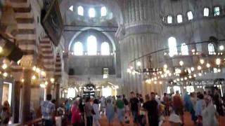 Мечеть Султанахмет (Голубая Мечеть) в Стамбуле(Главная мечеть Стамбула., 2011-07-24T20:05:13.000Z)
