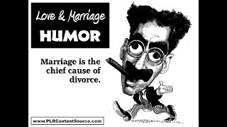 Love and Marriage Humor