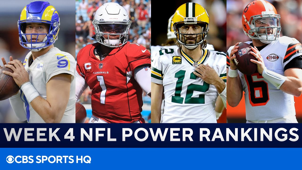 NFL power rankings: Arizona Cardinals best team after Week 4 win ...