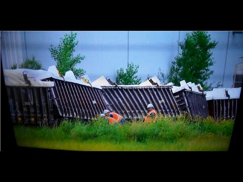 CN Derailment at Kenaston. Pictures and news reports.