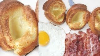 3-ingredient Yorkshire Pudding Recipe 요크셔 푸딩 만들기