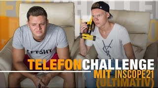 TELEFON CHALLENGE mit Inscope21 (ULTIMATIV)