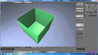 Blender Tidbits 2.7 - Solidify Object Techniques for Games and More