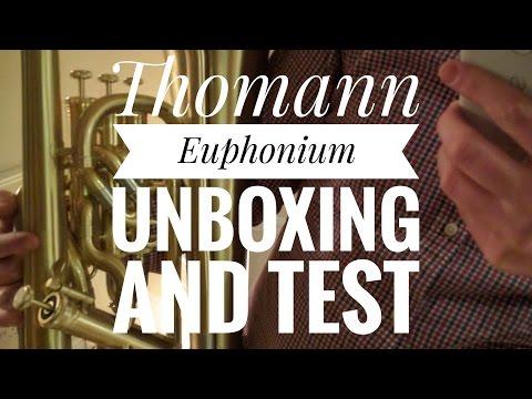 Thomann Euphonium Unboxing and Test (902SL)