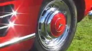 Car Show Mercedes Benz 300SL Gull Wing 1955