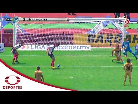 Gol de César Montes | Pumas 4 - 1 Monterrey | Jornada 6 - A16 | Televisa Deportes