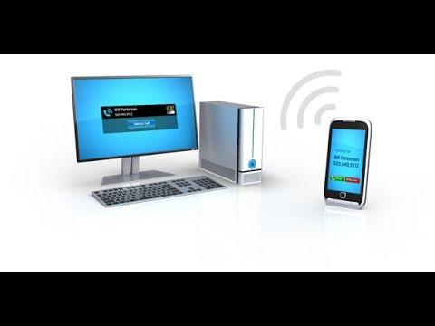 Как с компьютера звонить через телефон на Android'е