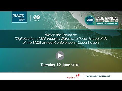 Tuesday Forum EAGE Annual Copenhagen 2018