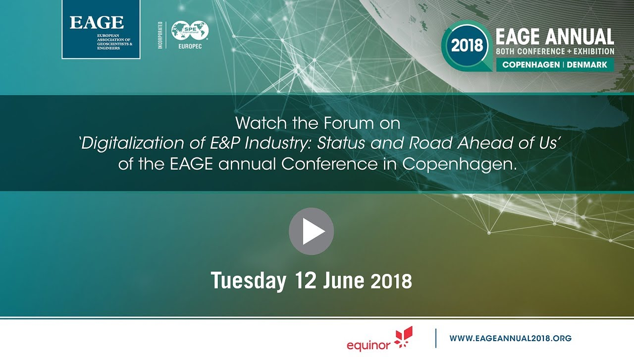 tuesday forum eage annual copenhagen 2018 youtube