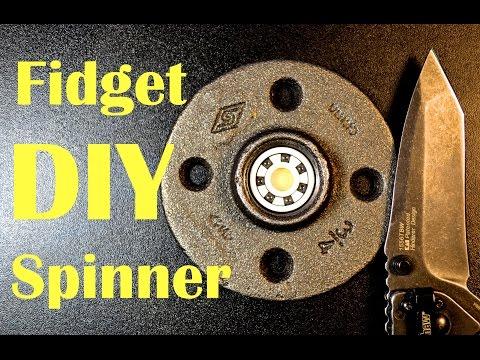 Fidget Spinner DIY: EASY & 5 Minute Spin Time