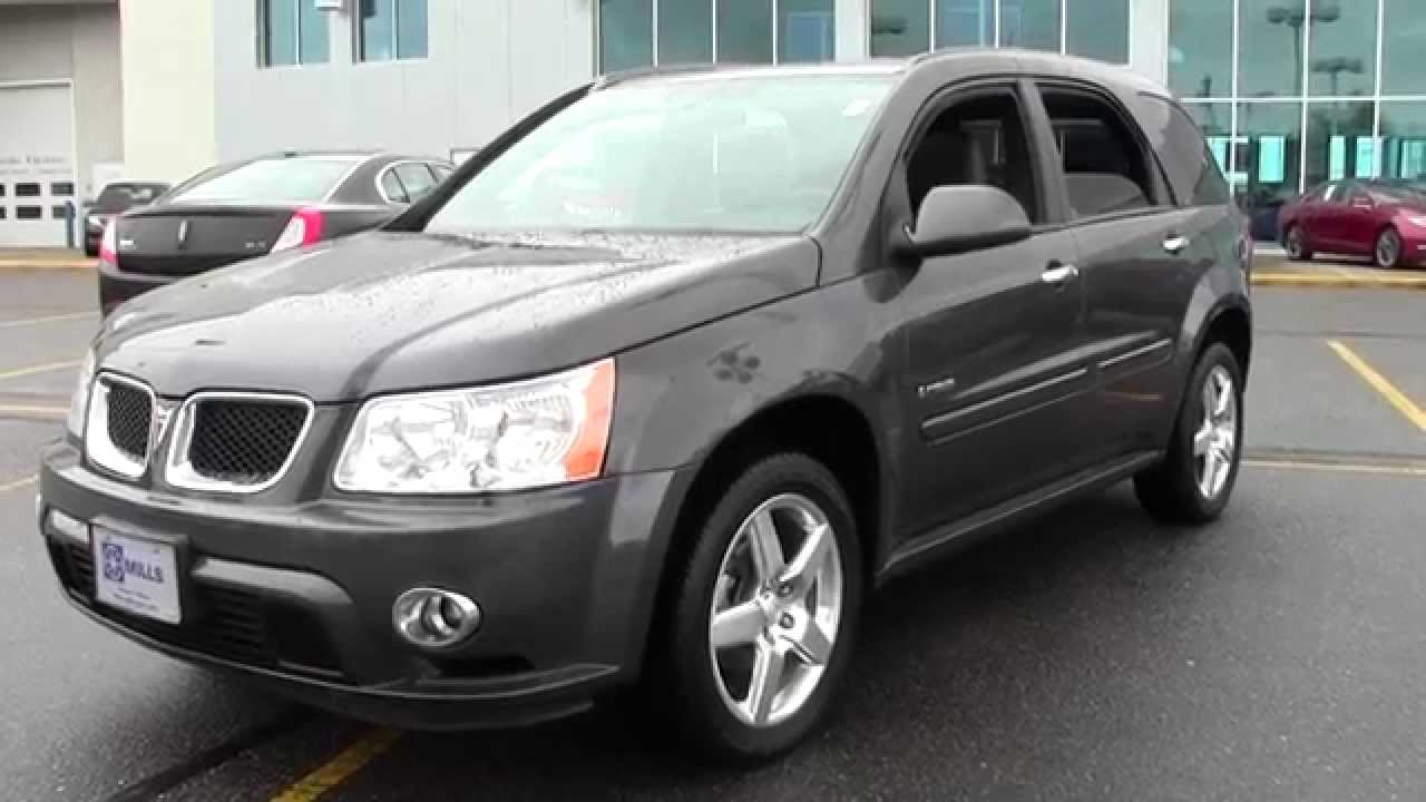 2008 Pontiac Torrent Awd Gxp 1f150201a Youtube