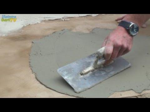 Teiche Dauerhaft Bauen Teil 6 Reparaturspachtel Youtube
