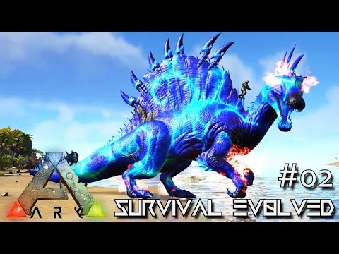ARK: SURVIVAL EVOLVED - NEW SPINO XENON & WYVERN TAMING !!! E02 (MODDED ARK MYSTIC ACADEMY)