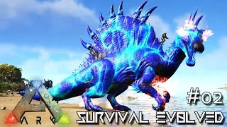 ark survival evolved new spino xenon wyvern taming e02 modded ark mystic academy
