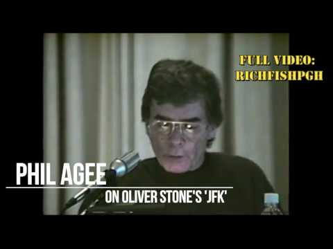 Ex-CIA Phil Agee on Oliver Stone's 'JFK' and Politicized Intelligence