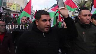 State of Palestine: Thousands back Mahmoud Abbas's move at UN