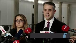 DR ANUSZ, DR KARNKOWSKI - PIS CHCE DYMISJI BANASIA