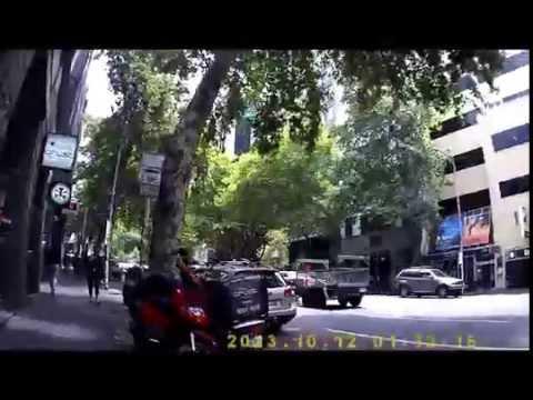 Melbourne CBD Mon 5th Jan 2015