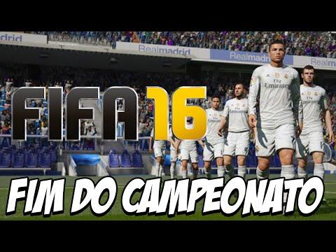 FIFA 16 - FINAL DO CAMPEONATO Carreira com Real Madrid