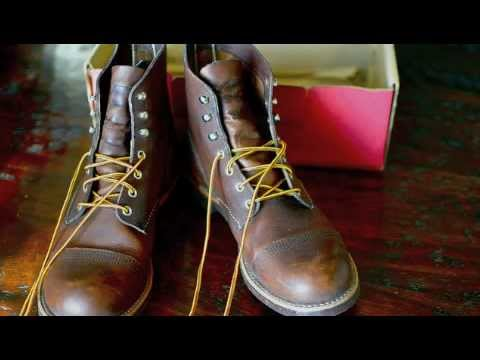 Red Wing Iron Rangers Youtube