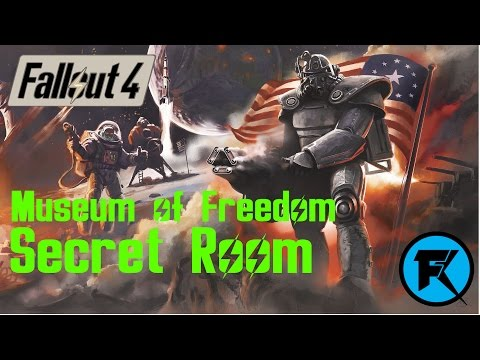Fallout 4 | Museum of Freedom | Secret Room Exploring