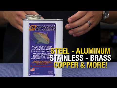 Protect Metal with Clear Coating - SharkHide Metal Protectant - Eastwood